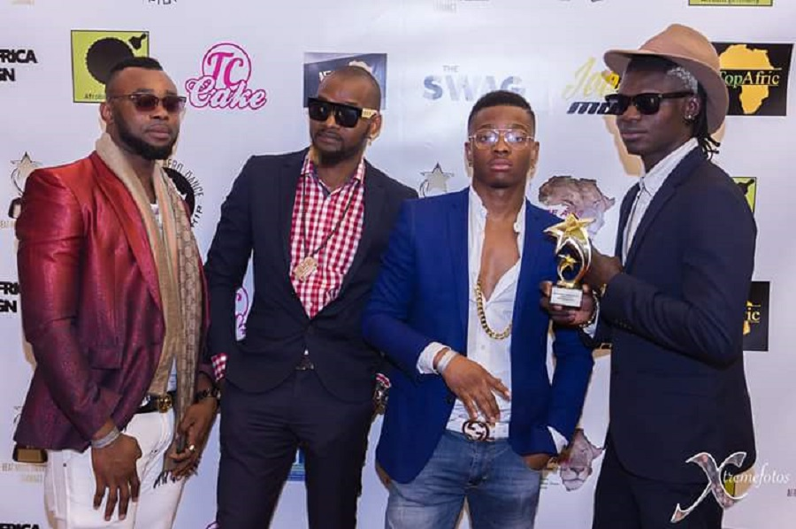 """Kalongolo Love"" by Jesty B Peter (Right) won the Best Afrobeat Song Award"