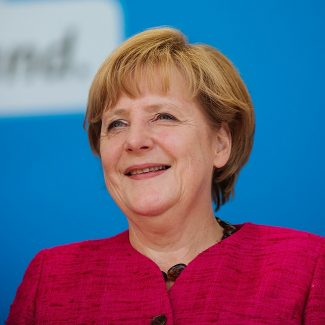 Chancellor Angela Merkel, 62, is widely regarded as the most powerful woman in the world, and has presided over Europe's strongest economy since 2005
