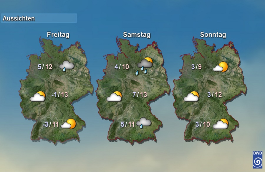 German-weather-forecast