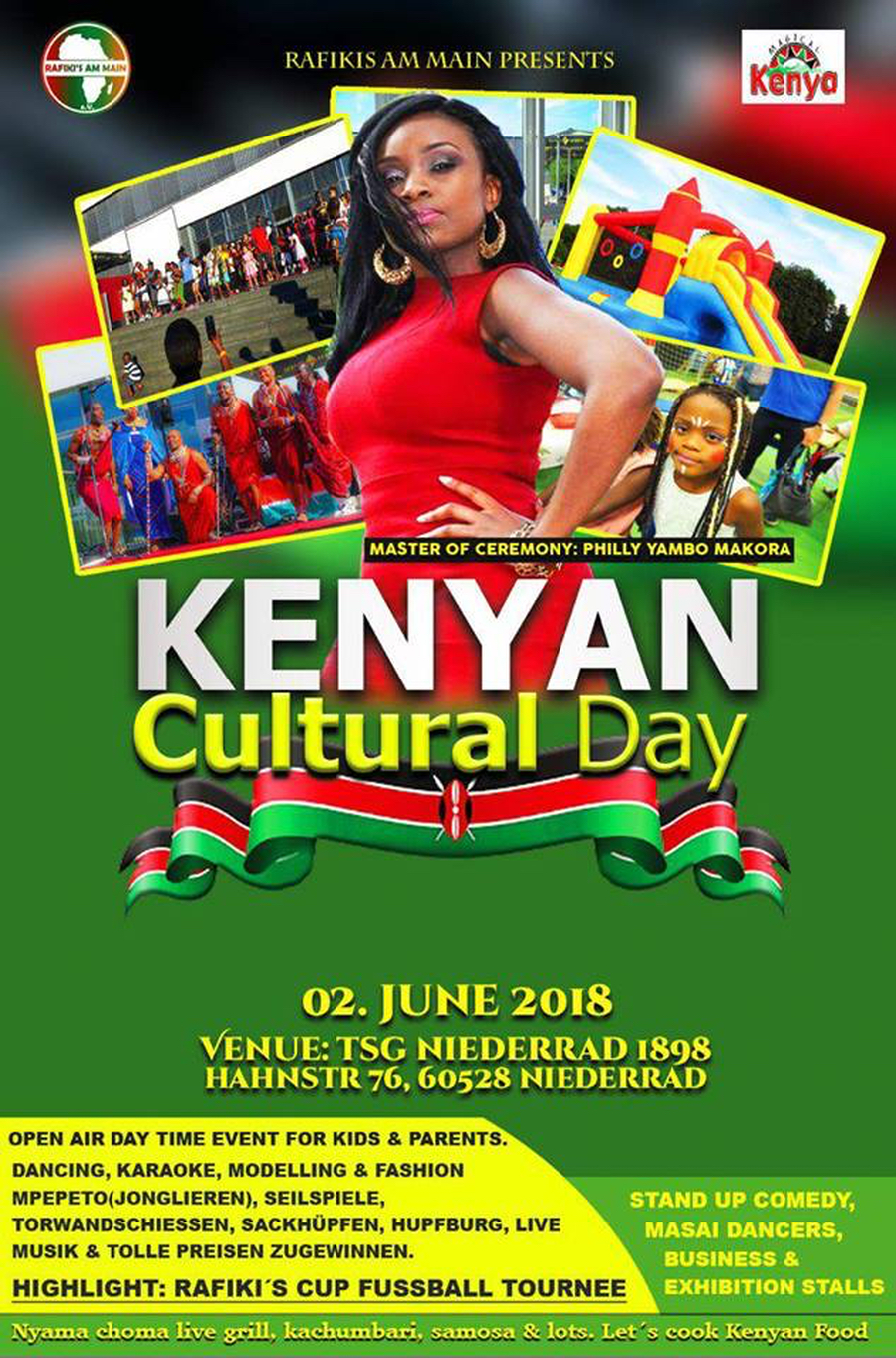 Kenyan Cultural Day in Niederrad